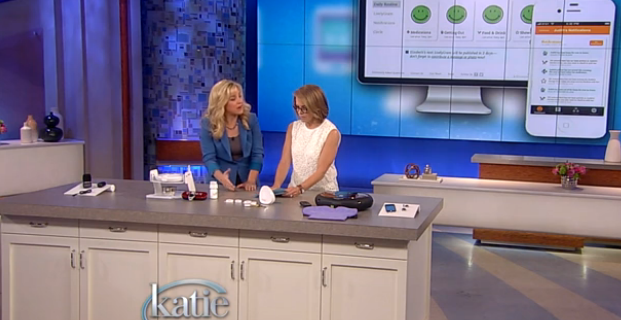 Lively on the Katie Couric show