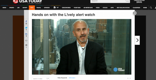 Ed Baig from USA Today reviews the Lively watch
