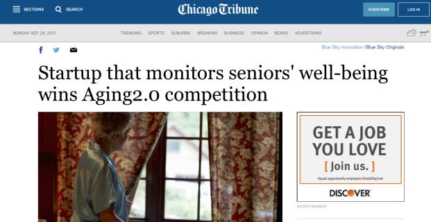 Aging2.0 in the Chicago Tribune