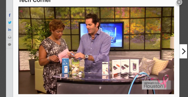 Kinsa featured on Great Day Houston segment with the High-Tech Texan