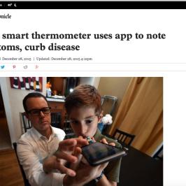 Kinsa in San Francisco Chronicle