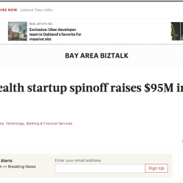 Healthline in San Francisco Business Times