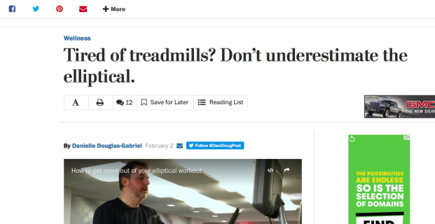 Healthline in The Washington Post