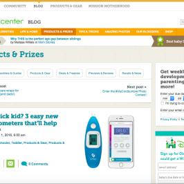Kinsa in BabyCenter Blog