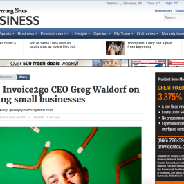 Invoice2go in San Jose Mercury News