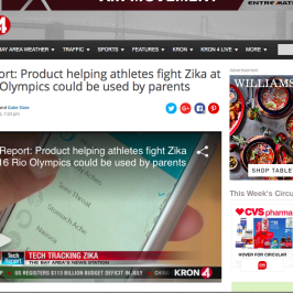 Kinsa on Bay Area's KRON 4 News