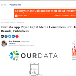 Ourdata in Forbes
