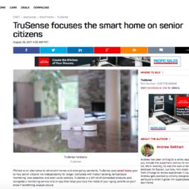 TruSense in CNET