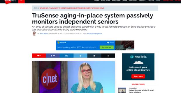 TruSense in ZDNet