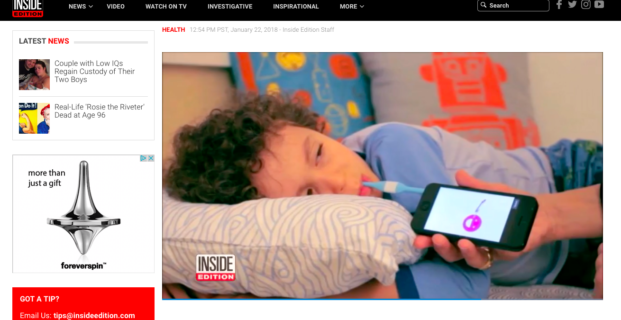 Kinsa on Inside Edition