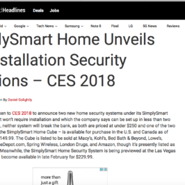 SimplySmart Home in Android Headlines