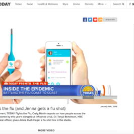 Kinsa on the Today Show