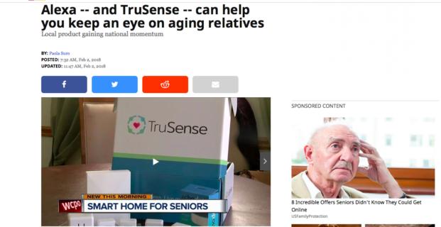 TruSense on WCPO New This Morning in Cincinnati