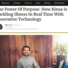 Kinsa in Forbes
