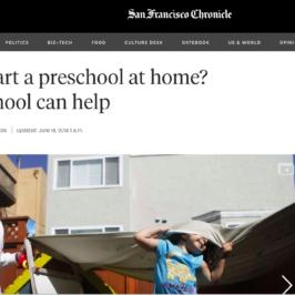Wonderschool in San Francisco Chronicle