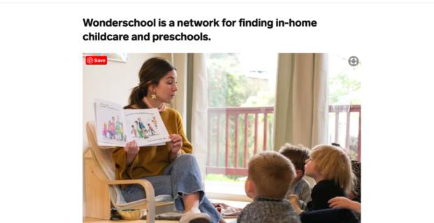 Wonderschool in Business Insider