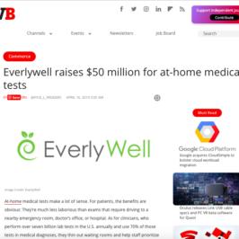 EverlyWell in VentureBeat