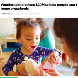 Wonderschool in TechCrunch