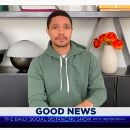 Kinsa on The Daily Show with Trevor Noah