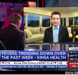 Kinsa on CNBC News