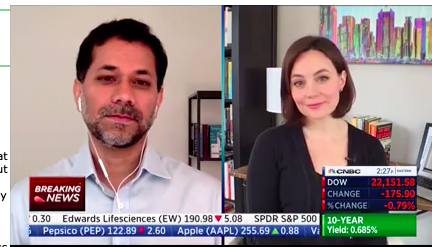 Kinsa's CEO Inder Singh on CNBC's Power Lunch