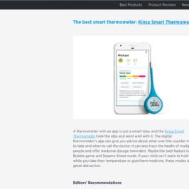 Kinsa in Digital Trends