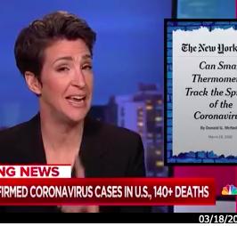 Kinsa on MSNBC's Rachel Maddow Show