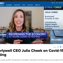 EverlyWell live on CNBC's Closing Bell