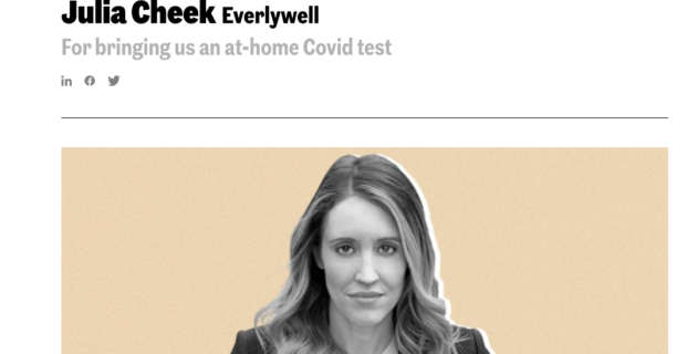 Everlywell's CEO, Julia Cheek, named in Inc.'s Female Founders 100 List