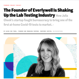 Everlywell's Julia Cheek featured in Inc.