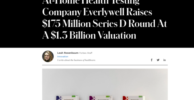 Everlywell featured in Forbes